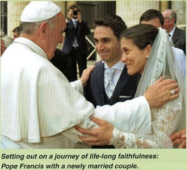 Pope married couple
